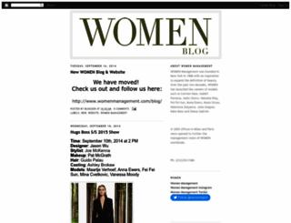 womenmanagement.blogspot.com screenshot