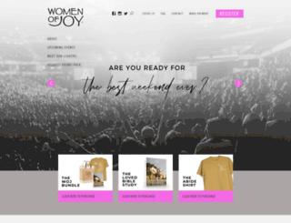 womenofjoy.org screenshot