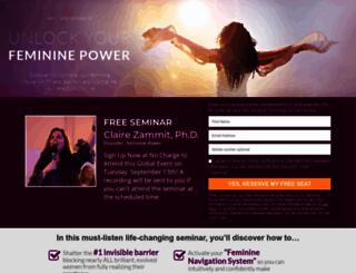 womenontheedgeofevolution.com screenshot