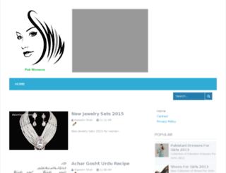 womenpak.blogspot.com screenshot