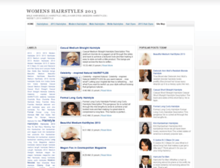 womens-hairstyles2013.blogspot.com screenshot