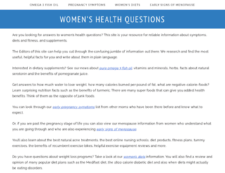 womens-health-questions.com screenshot