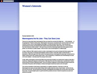 womens-interests-randima.blogspot.com screenshot