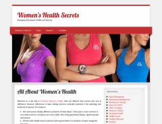 womens.health-secrets.net screenshot