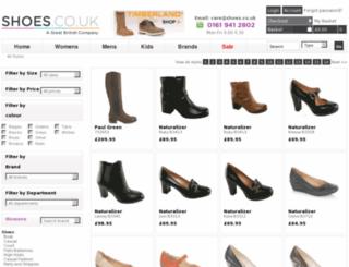 womens.shoes.co.uk screenshot
