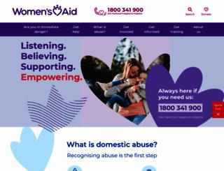 womensaid.ie screenshot
