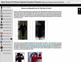 womenschurchsuitsplus.blogspot.in screenshot