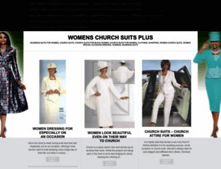 womenschurchsuitsplus.wordpress.com screenshot