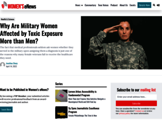 womensenews.org screenshot