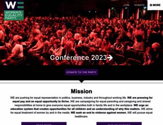 womensequality.org.uk screenshot