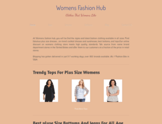 womensfashionhub.weebly.com screenshot