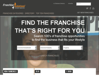 womensfranchises.com screenshot