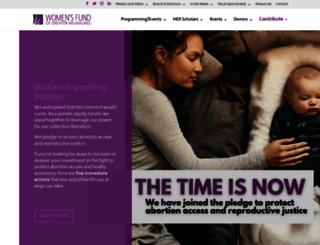 womensfundmke.org screenshot
