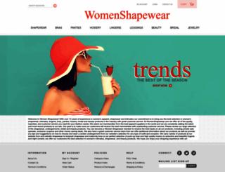 womenshapewear.com screenshot