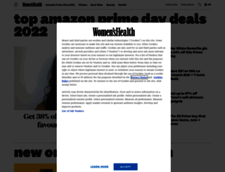 womenshealthmag.co.uk screenshot