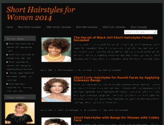 womenshorthairstylesmag.com screenshot