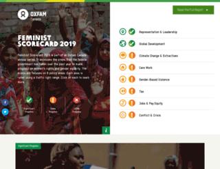 womensrights.oxfam.ca screenshot