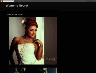 womenssecret1.blogspot.co.uk screenshot