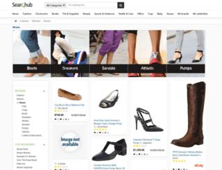 womensshoes.searchub.com screenshot