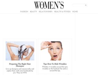 womenstheme.com screenshot
