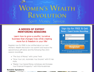 womenswealthevent.com screenshot