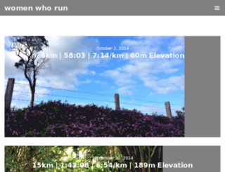 womenwhorun.com.au screenshot