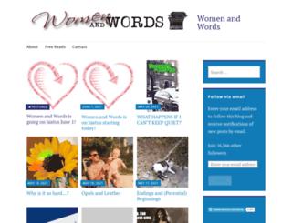 womenwords.org screenshot