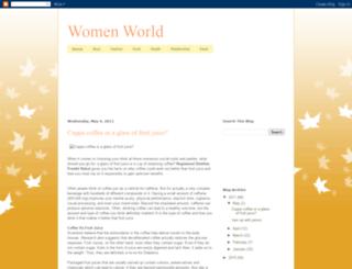 womeworld.blogspot.com screenshot