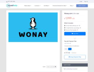 wonay.com screenshot