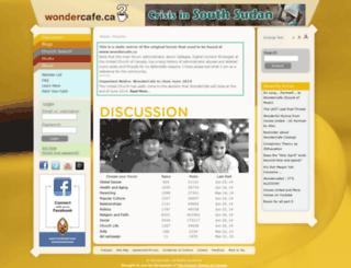 wondercafe.altervista.org screenshot