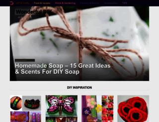 wonderfuldiy.com screenshot