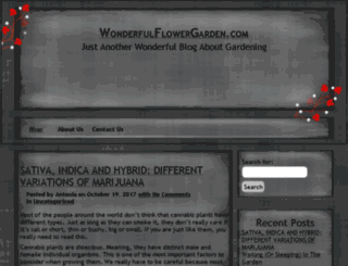 wonderfulflowergarden.com screenshot