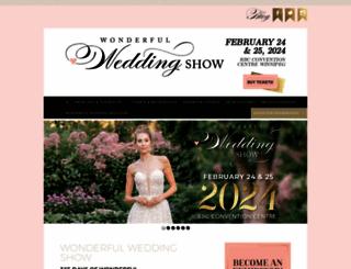 wonderfulweddingshow.com screenshot