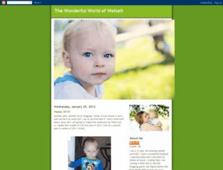 wonderfulworldofwetsell.blogspot.com screenshot