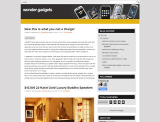 wondergadgets.blogspot.in screenshot