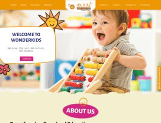 wonderkids.in screenshot
