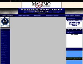 wonderlandwizards.com screenshot