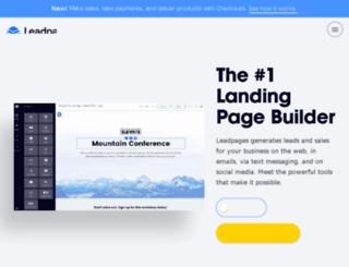 wonderlass.leadpages.co screenshot