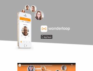 wonderloop.me screenshot
