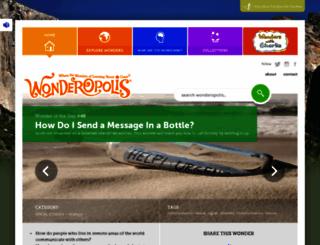 wonderopolis.org screenshot
