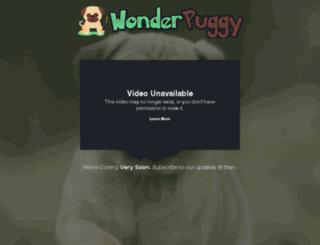 wonderpuggy.com screenshot