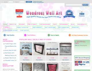 wondrouswallart.com screenshot