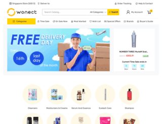wonect.com screenshot