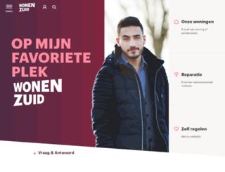 wonenzuid.nl screenshot