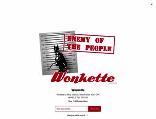 wonkette.com screenshot