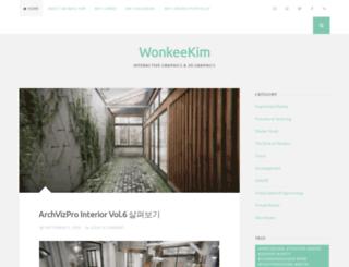 wonkykim.wordpress.com screenshot