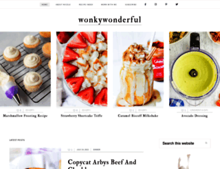 wonkywonderful.com screenshot