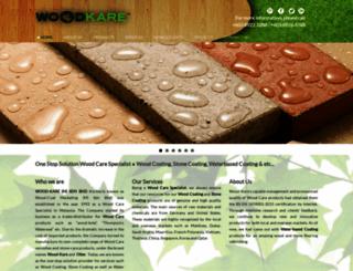 wood-kare.com screenshot