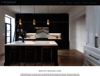 woodaledesigns.com screenshot