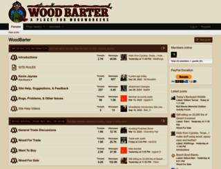 woodbarter.com screenshot